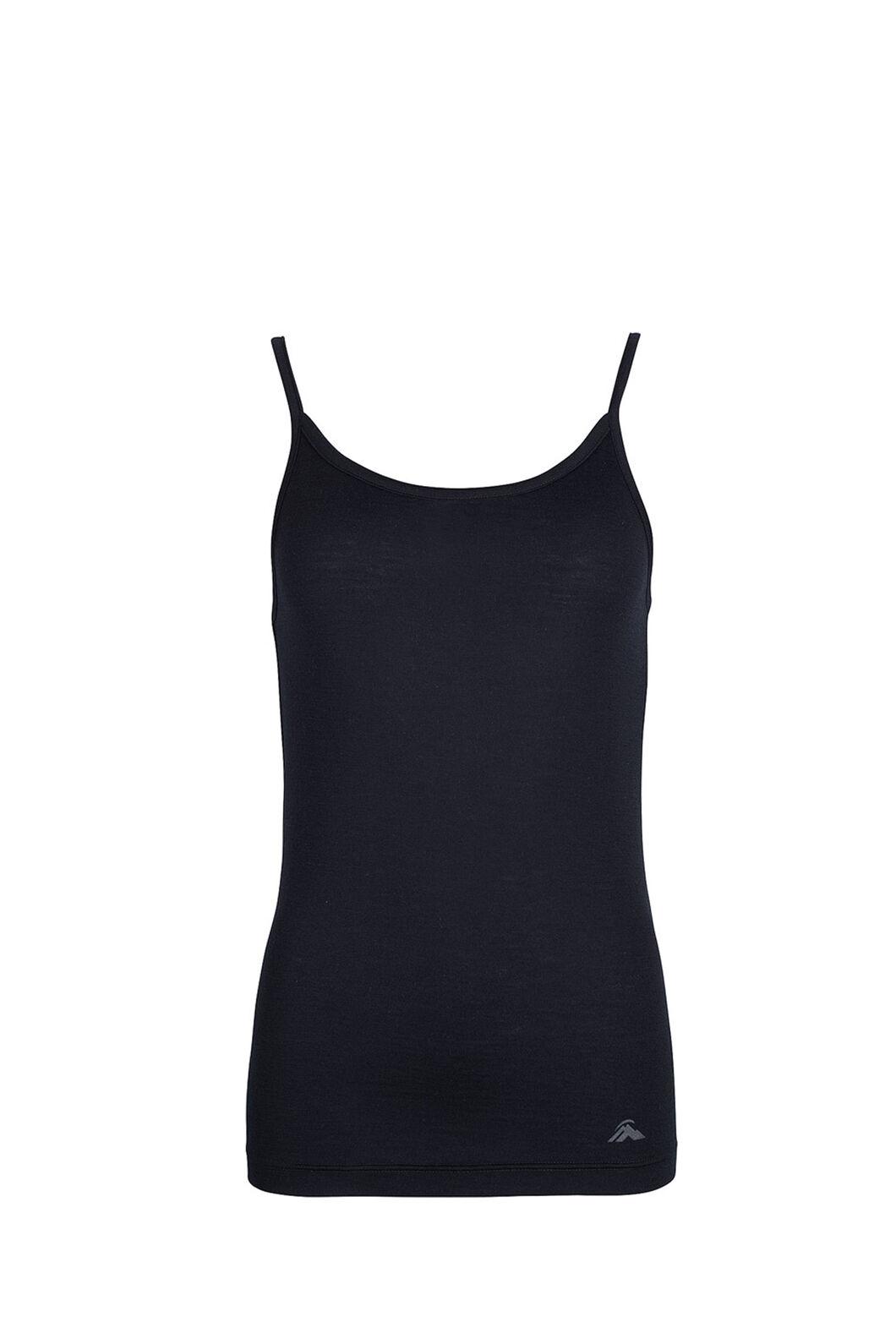 Macpac 150 Merino Camisole — Women's, Black, hi-res