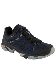 Hi-Tec Ravus Vent Lite WP Low Hiking Shoes — Men's, Midnight/Black Monument, hi-res