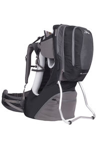 Macpac Vamoose Child Carrier V2, Black/Forged Iron, hi-res