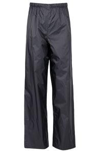 Macpac Jetstream Rain Pants - Kids', Black, hi-res