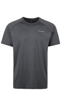 Macpac Eyre Short Sleeve Tee — Men's, Black, hi-res