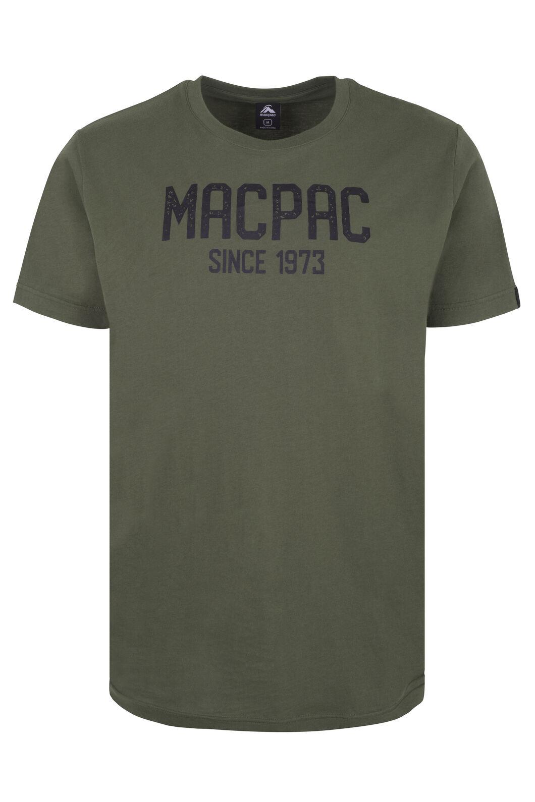 Macpac Freshman Organic Cotton Tee - Men's, Grape Leaf, hi-res