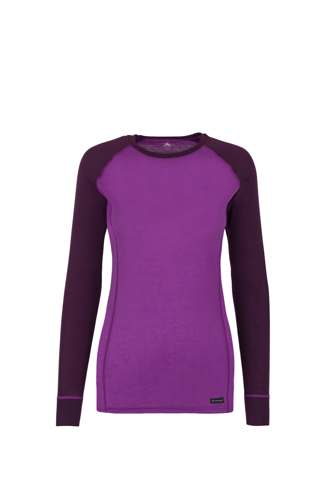 Macpac Geothermal Long Sleeve Top - Women's, Dahlia/Potent Purple, hi-res