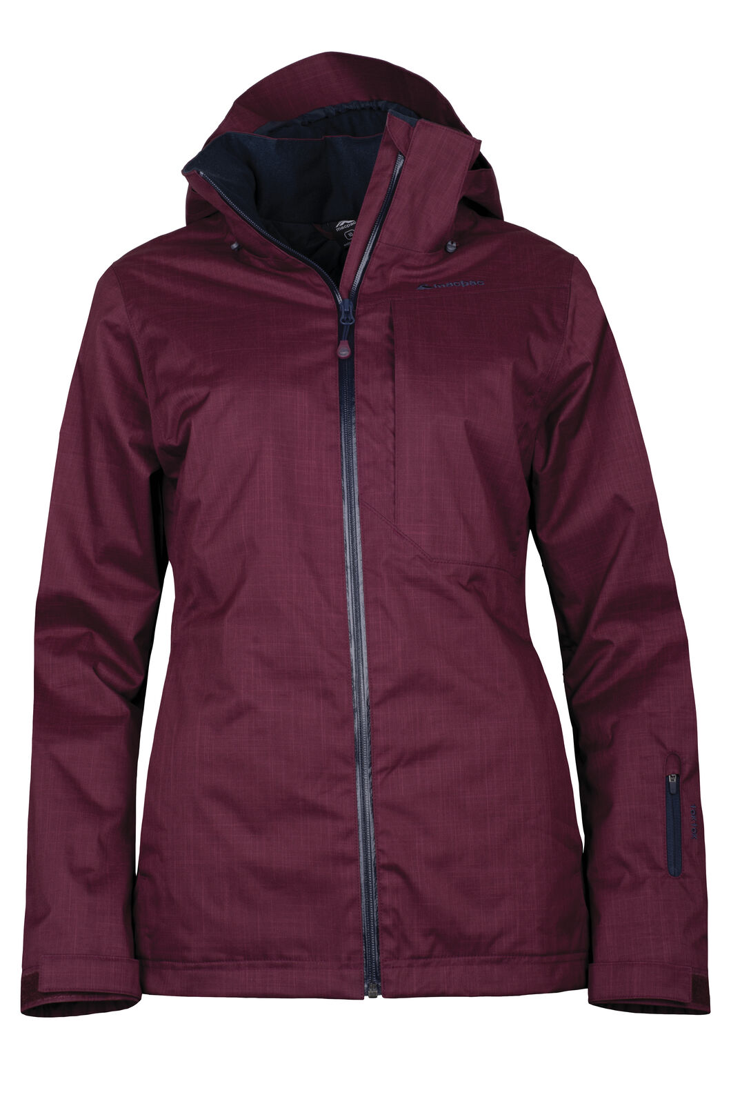 Powder Ski Jacket - Women's, Windsor Wine, hi-res