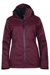 Powder Ski Jacket - Women's, Windsor Wine, hi-res