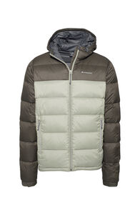 Macpac Halo Hooded Down Jacket - Men's, Black Olive/Vetiver, hi-res