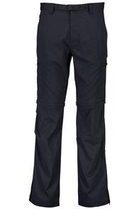 Macpac Men's Rockover Convertible Pants, Black, hi-res