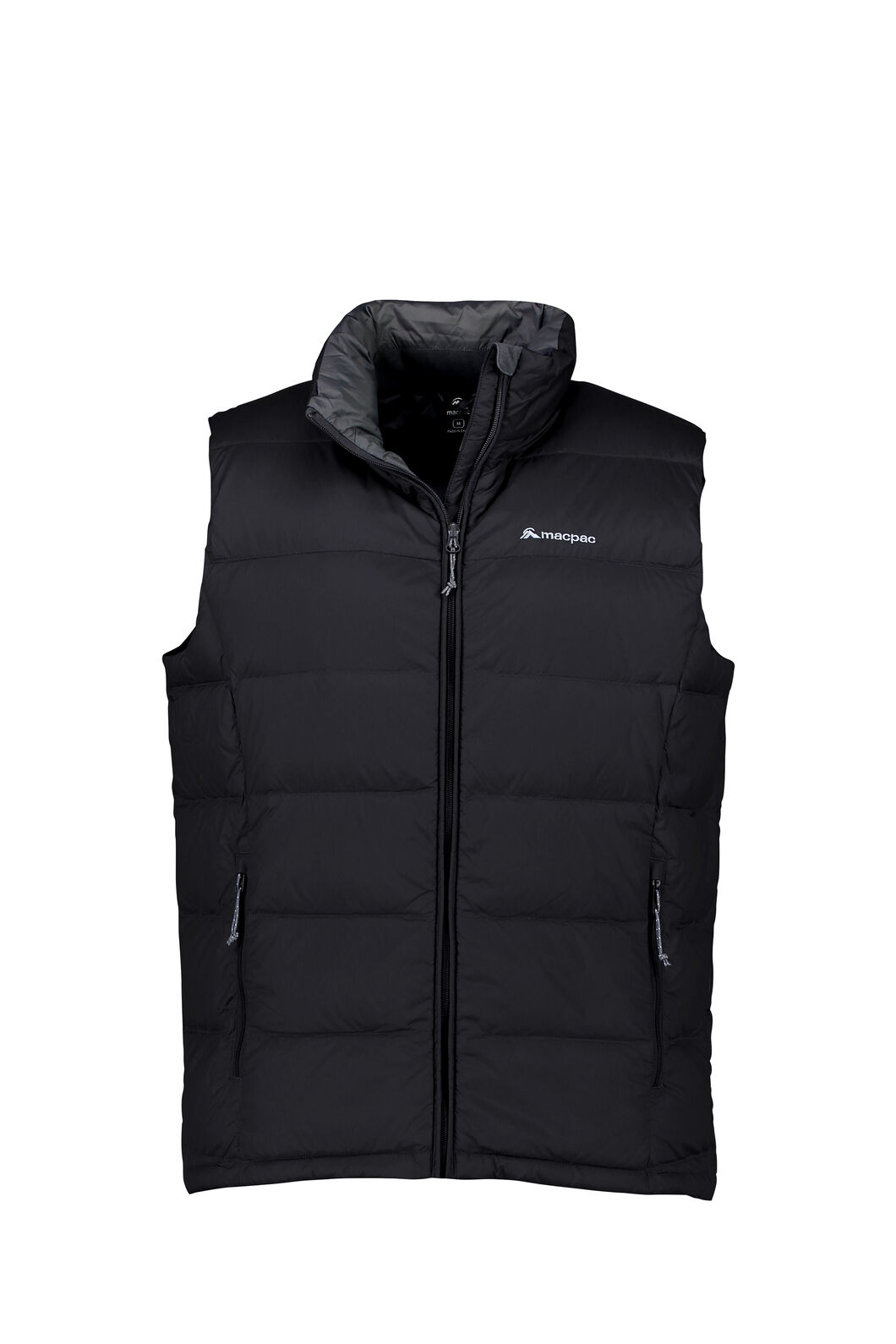 Macpac Halo Down Vest - Men's, Black, hi-res
