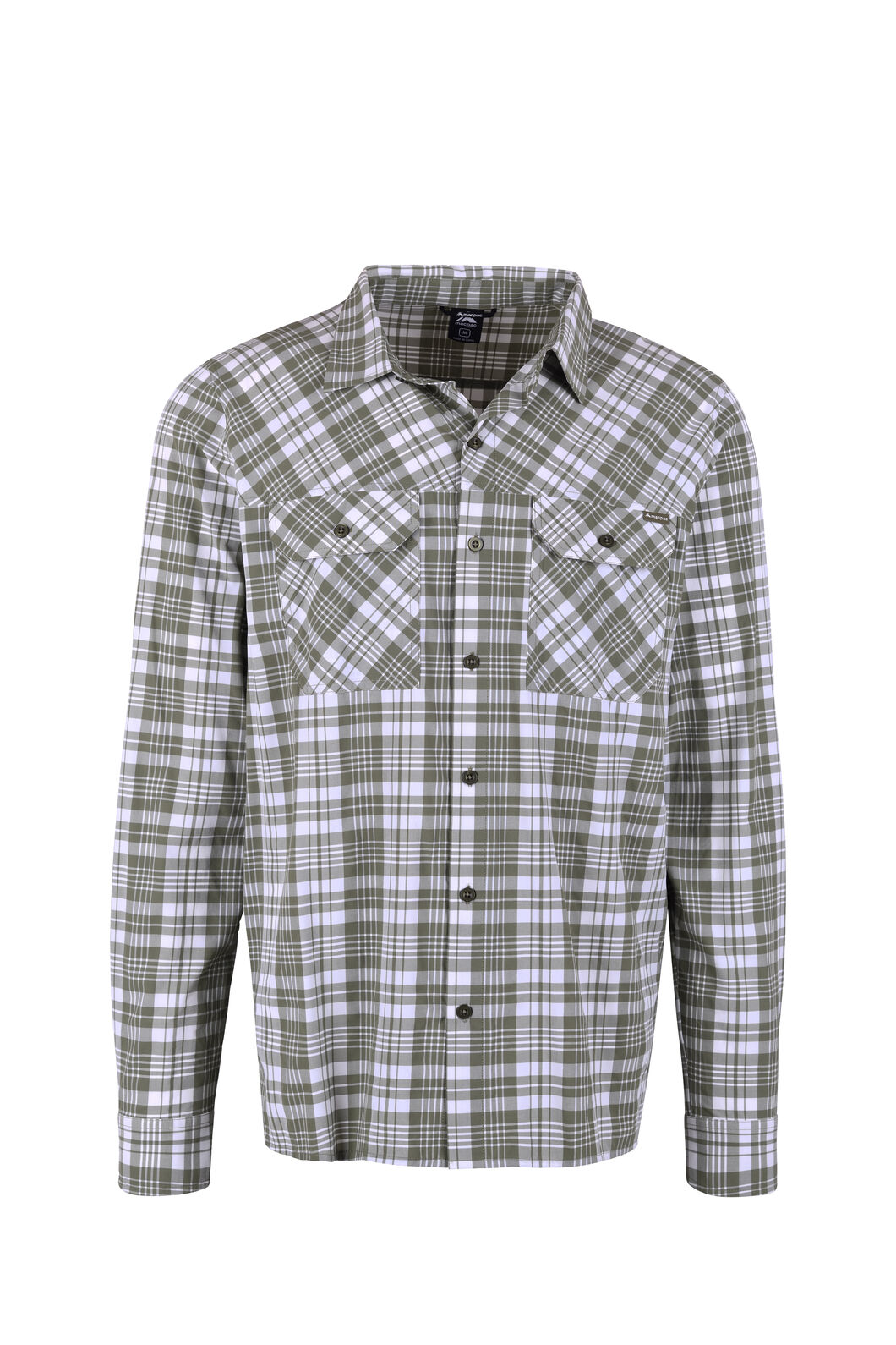 Macpac Eclipse Long Sleeve Shirt — Men's, Olivine, hi-res