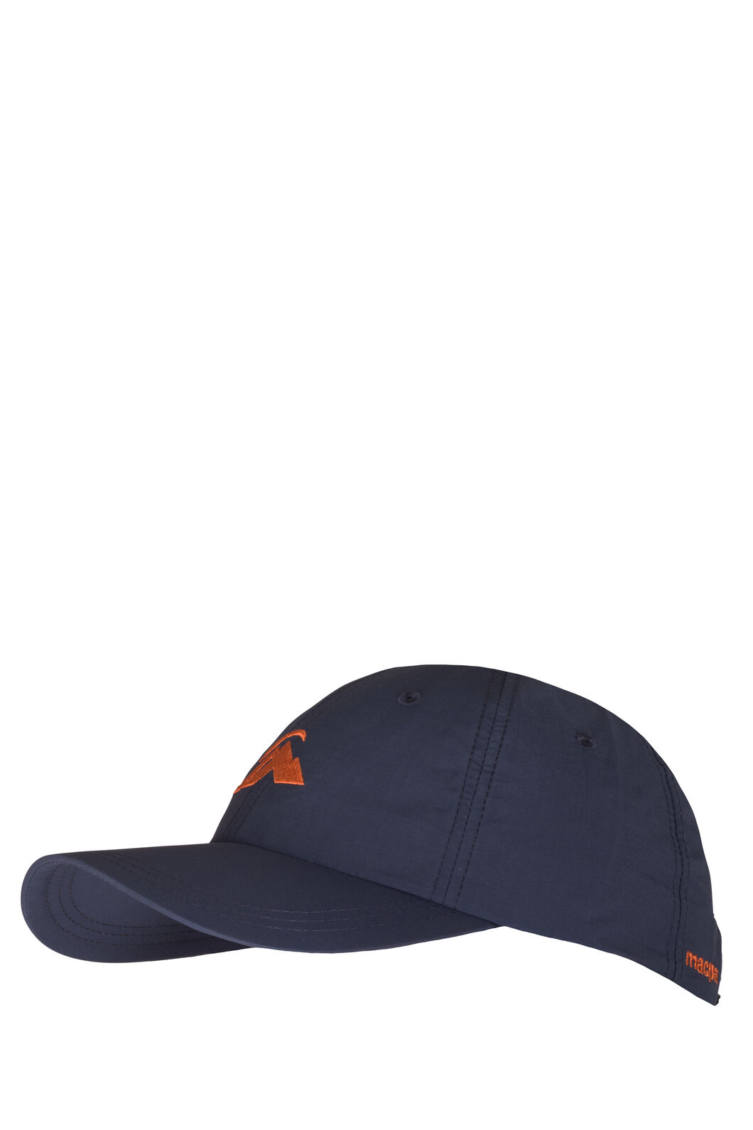 Macpac Mini Hiker Cap, Orange/Navy, hi-res