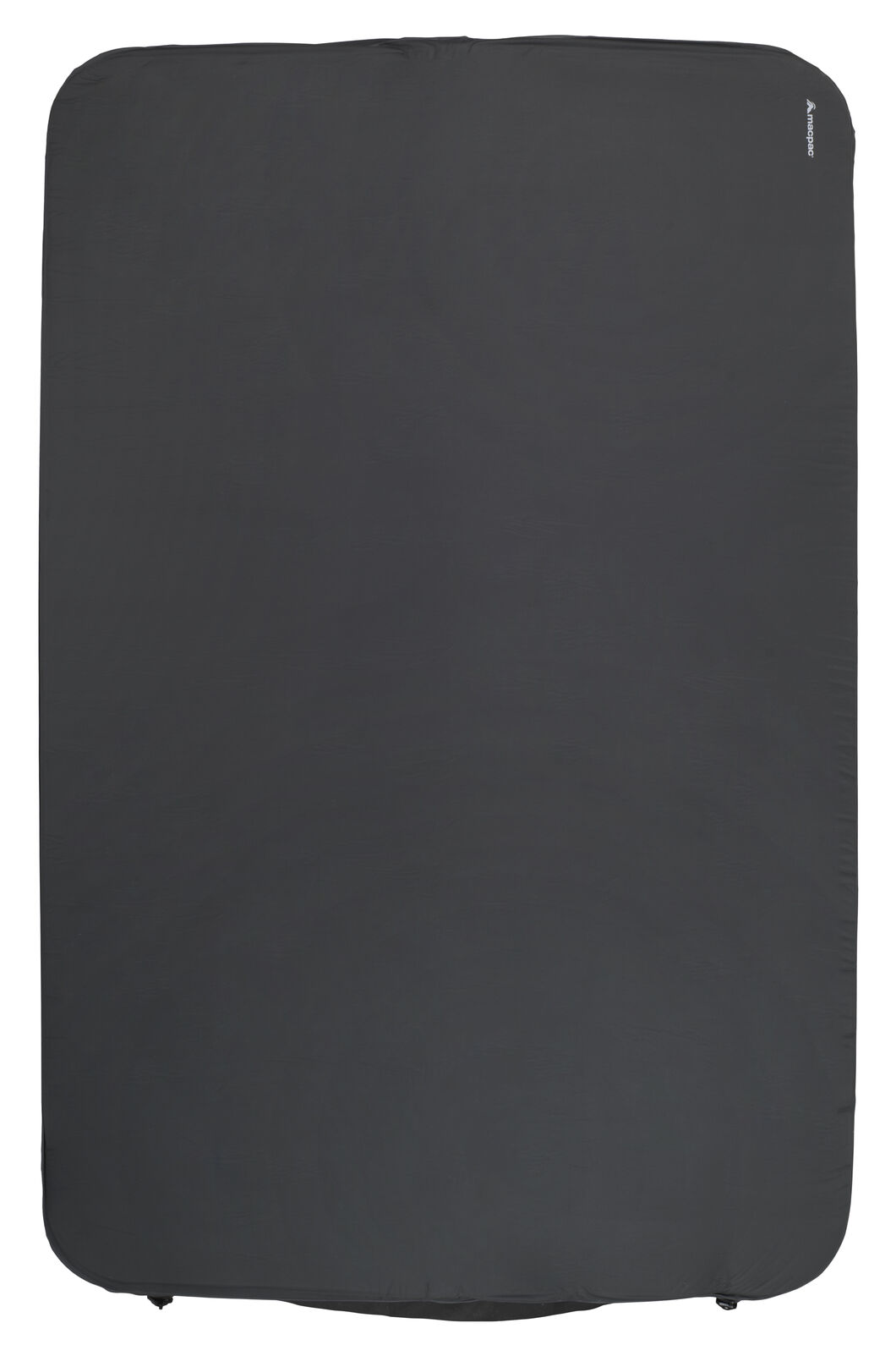 Macpac Deluxe Double Sleeping Mat, Charcoal, hi-res