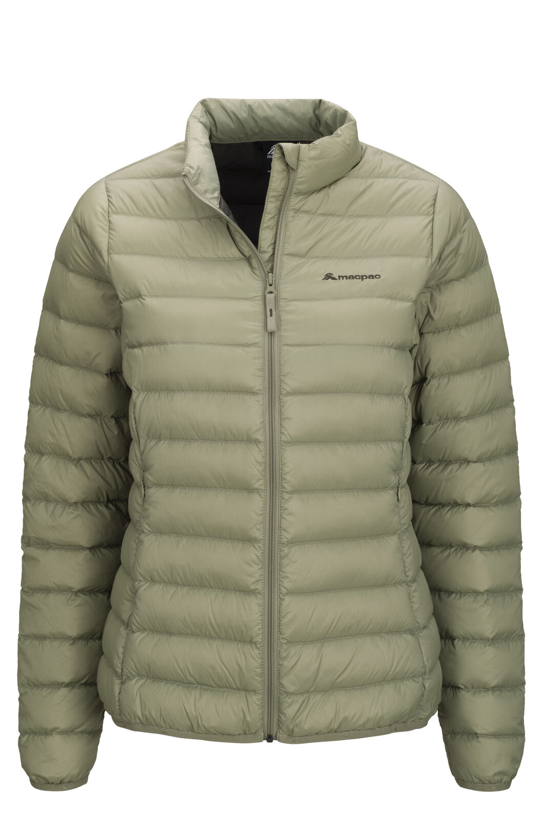 Macpac Uber Light Down Jacket — Women's, Oil Green, hi-res