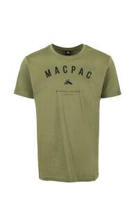 Macpac Graphic Organic Cotton T-Shirt - Men's, Loden Green, hi-res