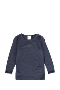 Macpac 150 Merino Long Sleeve Top — Baby, India Ink, hi-res