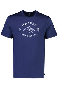 Mountain  Merino 180 Tee - Men's, Medieval Blue, hi-res