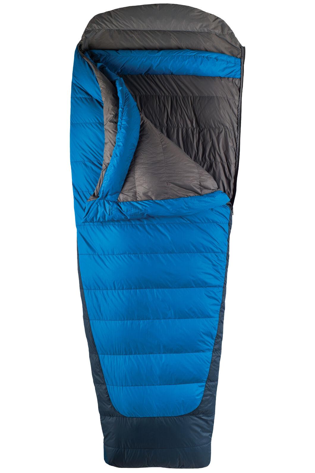 Macpac Escapade Down 350 Sleeping Bag - Extra Large, Classic Blue, hi-res