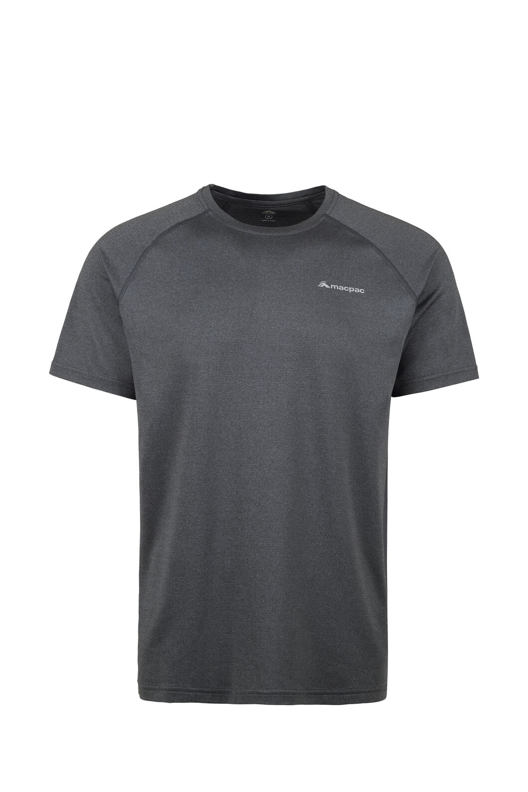 Macpac Eyre Short Sleeve Tee - Men's, Black, hi-res