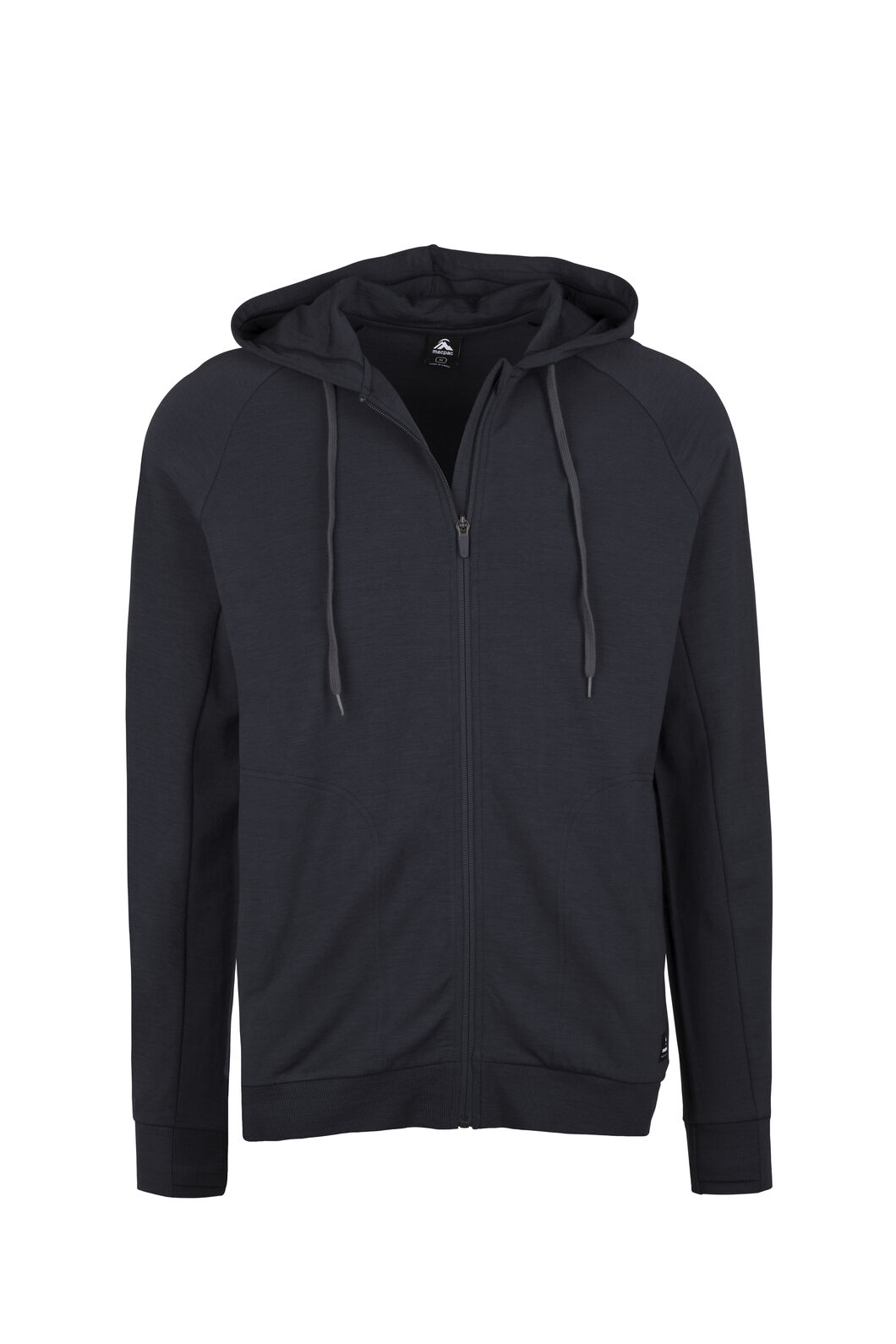 Macpac No Borders Merino Hoody - Men's, Black, hi-res