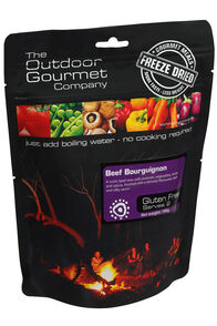 Outdoor Gourmet Company Beef Bourguignon Freeze Dried Food 2 Serve, None, hi-res