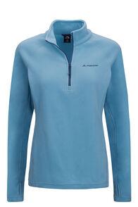 Macpac Women's Tui Polartec® Micro Fleece® Pullover, Delphinium, hi-res