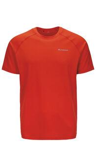 Macpac Eyre Short Sleeve Tee — Men's, Pureed Pumpkin, hi-res