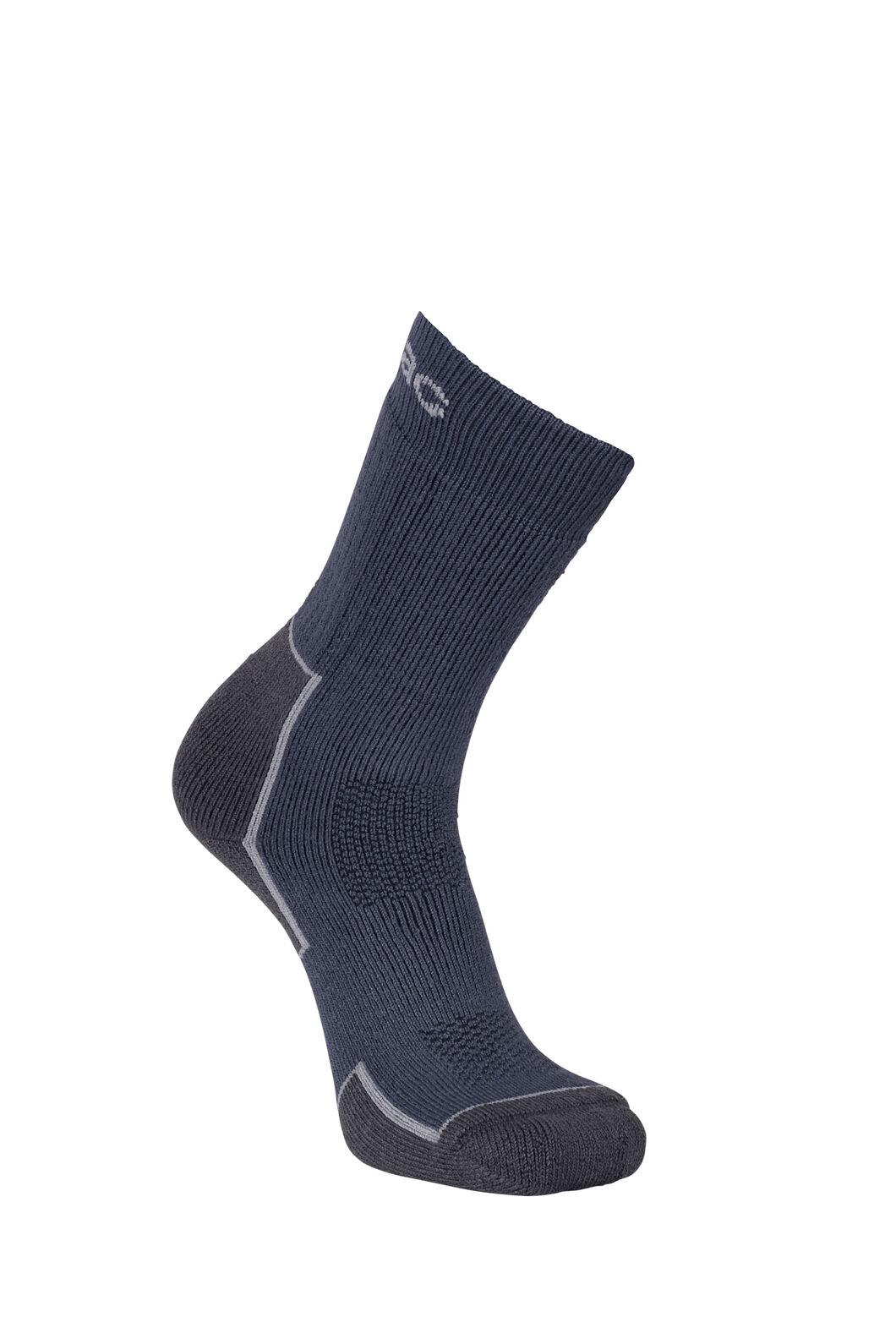 Macpac Merino Blend Hike Socks, Poseidon, hi-res