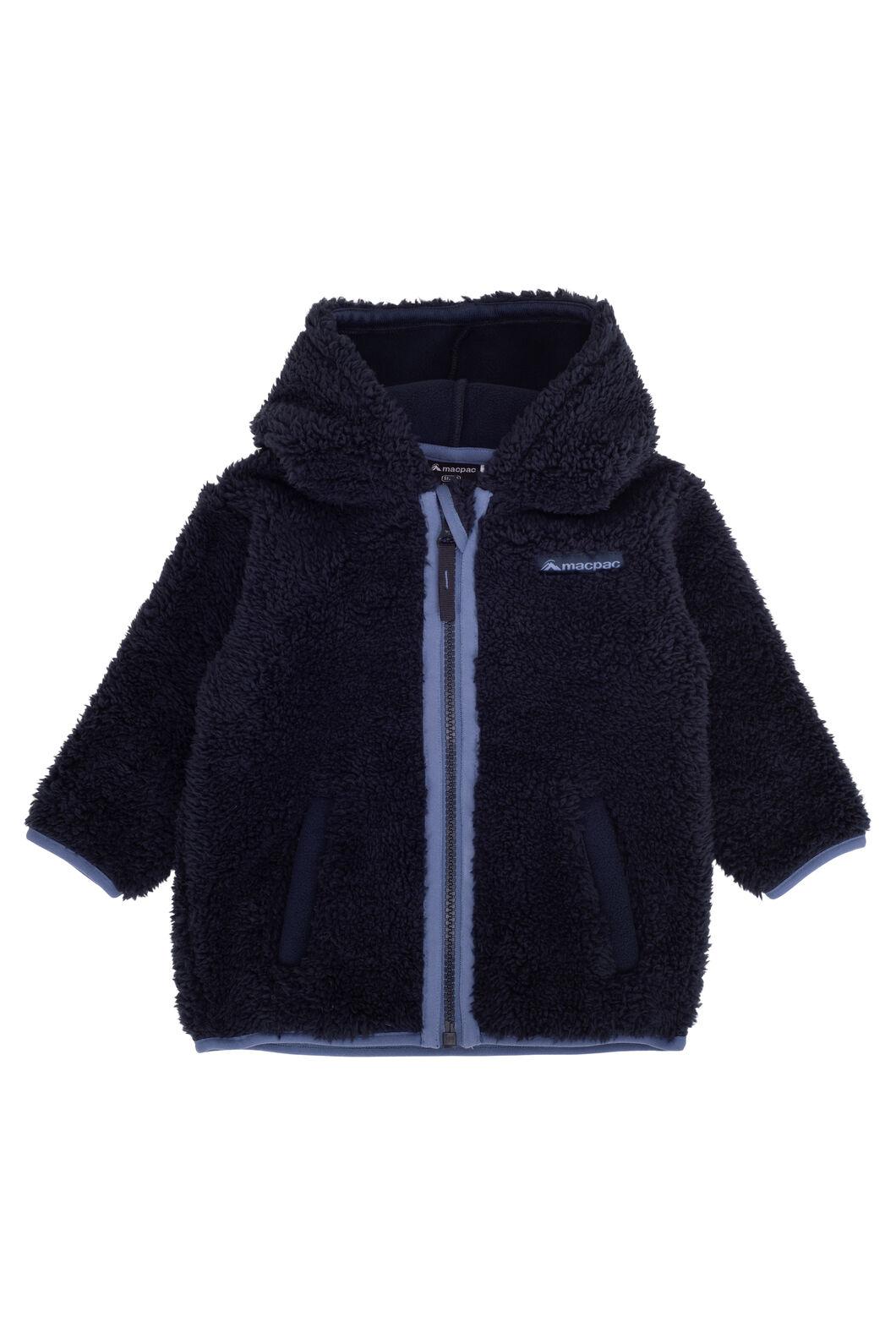 Macpac Acorn Fleece Jacket — Baby, Total Eclipse, hi-res