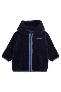 Macpac Acorn Fleece Jacket — Baby, Total Eclipse, hi-res