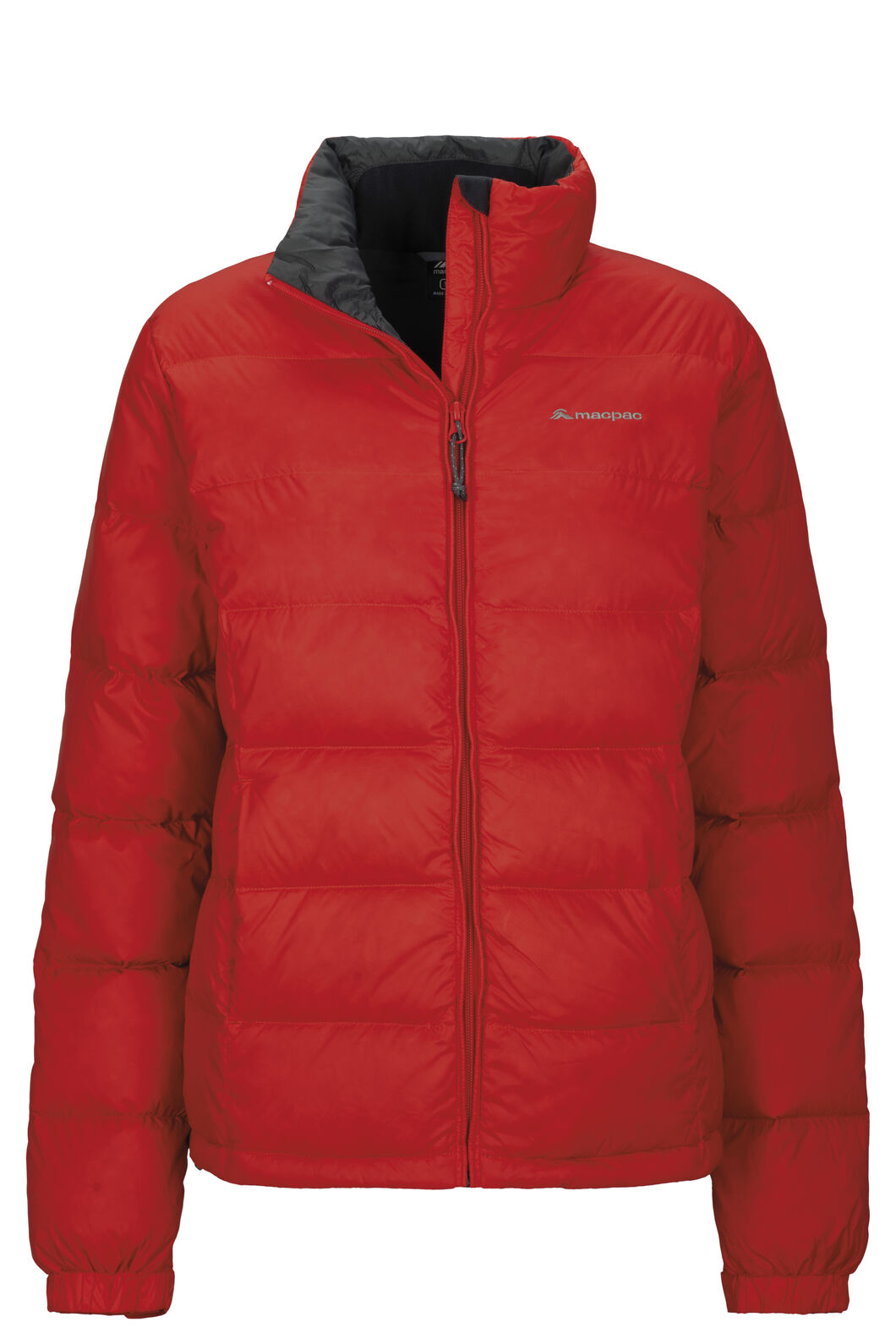 Macpac Halo Down Jacket — Women's, Fiery Red, hi-res