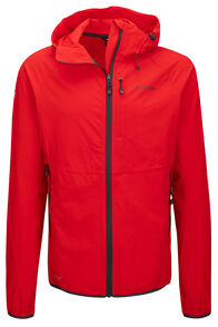 Macpac Mannering Pertex® Hooded Jacket — Men's, Flame Scarlet, hi-res