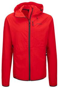Macpac Men's Mannering Pertex® Hooded Jacket, Flame Scarlet, hi-res