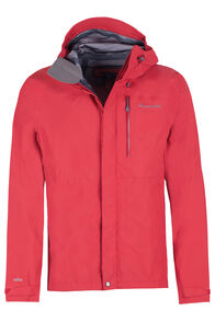 Gauge Rain Jacket - Men's, Scarlet Sage, hi-res
