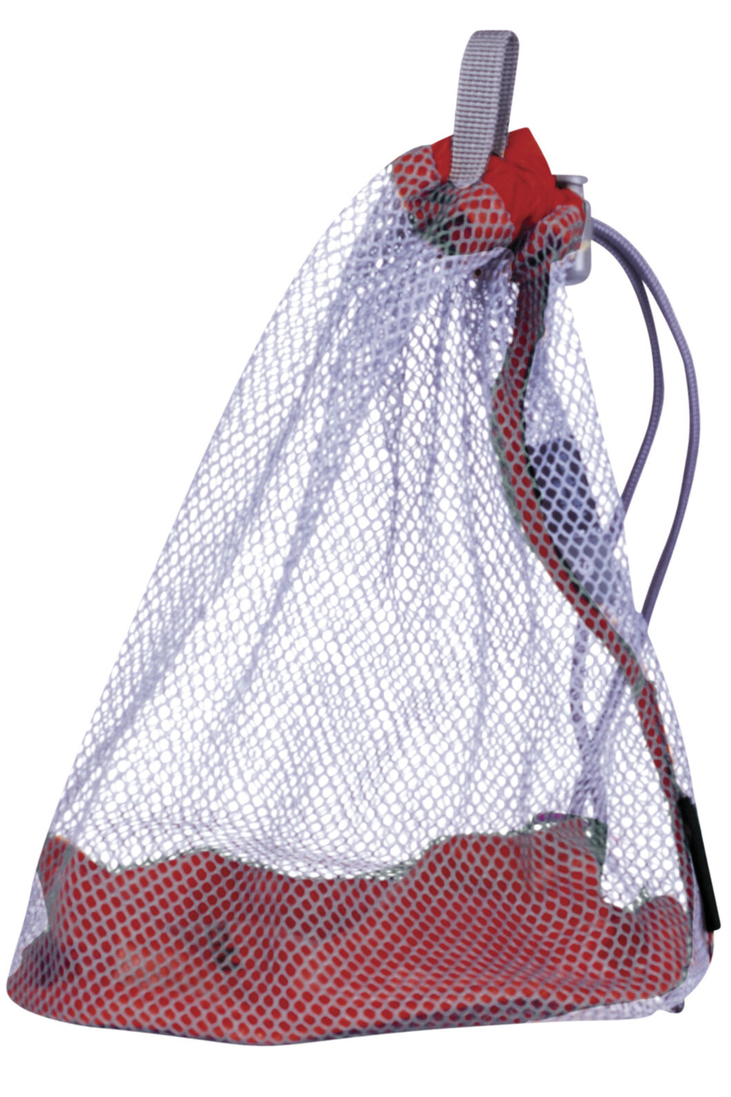 Macpac Mesh Stuff Sack Medium, Scarlet Sage, hi-res