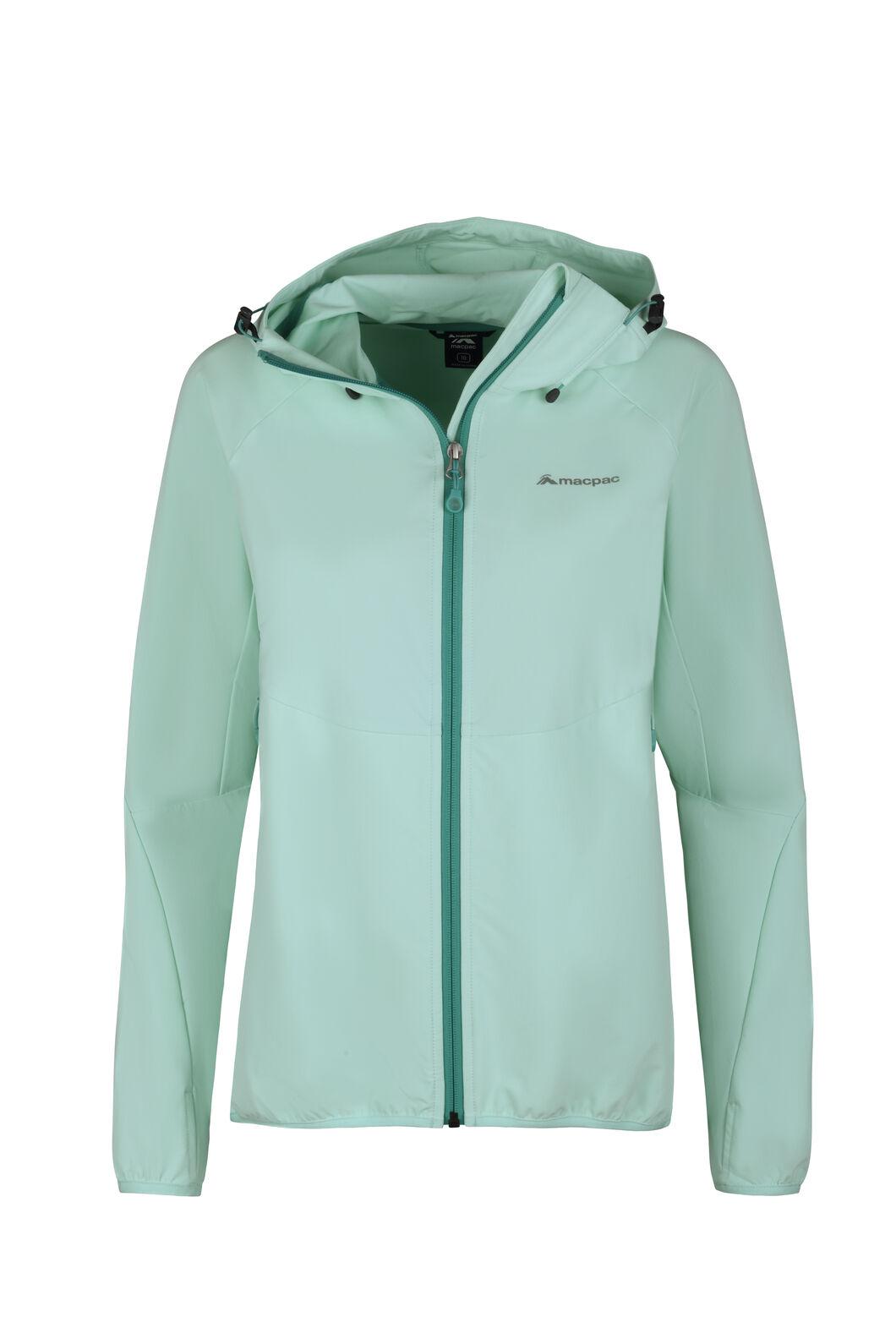 Macpac Mannering Pertex® Hooded Jacket — Women's, Beach Glass, hi-res