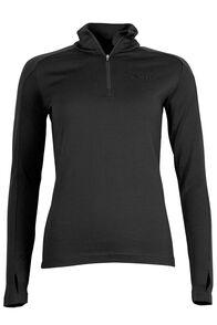 Kauri 280 Merino Pullover - Women's, Black, hi-res