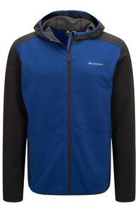 Macpac Arc Fleece Hooded Jacket — Men's, Surf The Web, hi-res