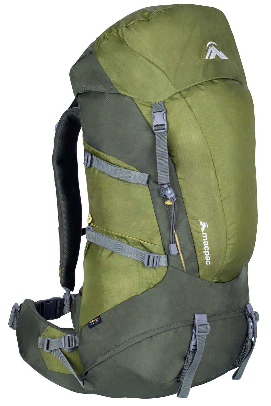 Macpac Torlesse 65L Pack, Calla Green/Forest, hi-res