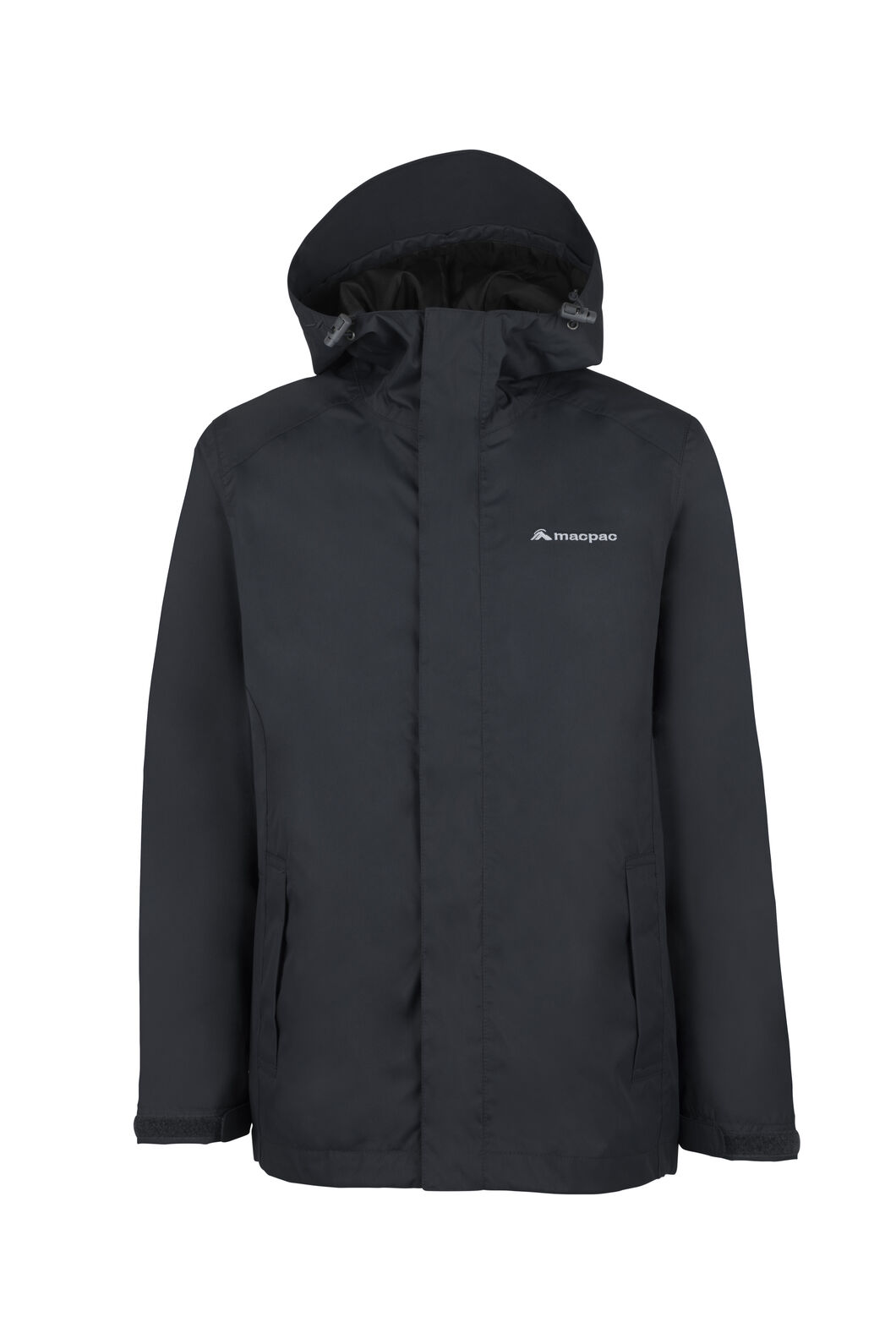 Macpac Jetstream Rain Jacket - Kids', Black, hi-res