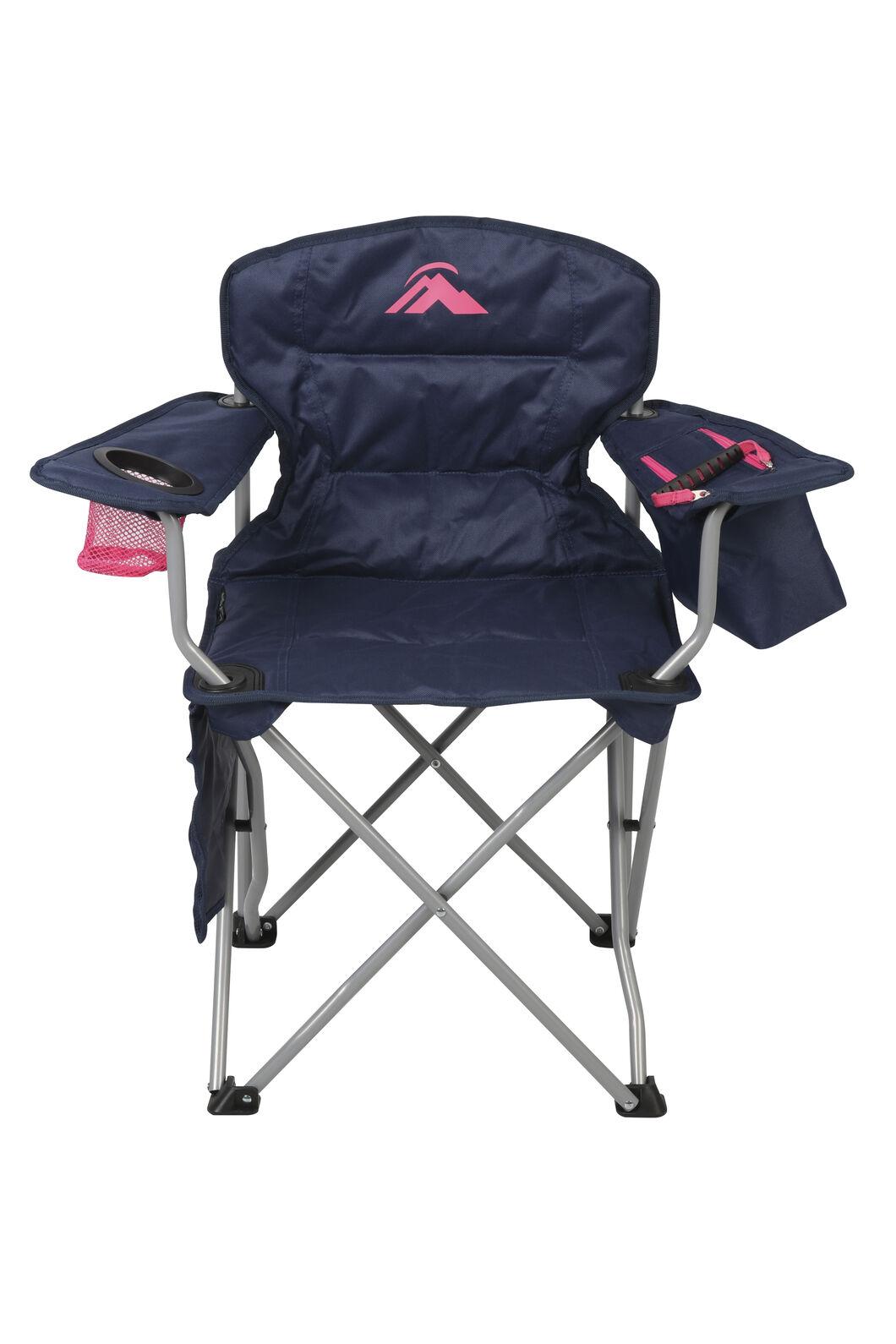 Macpac Cooler Armchair — Kids', Navy/Pink, hi-res