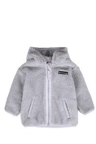 Macpac Acorn Fleece Jacket — Baby, High Rise/Nimbus Cloud, hi-res