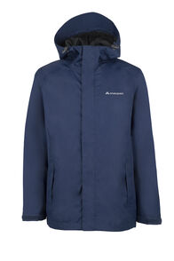 Macpac Jetstream Rain Jacket - Kids', Medieval Blue, hi-res