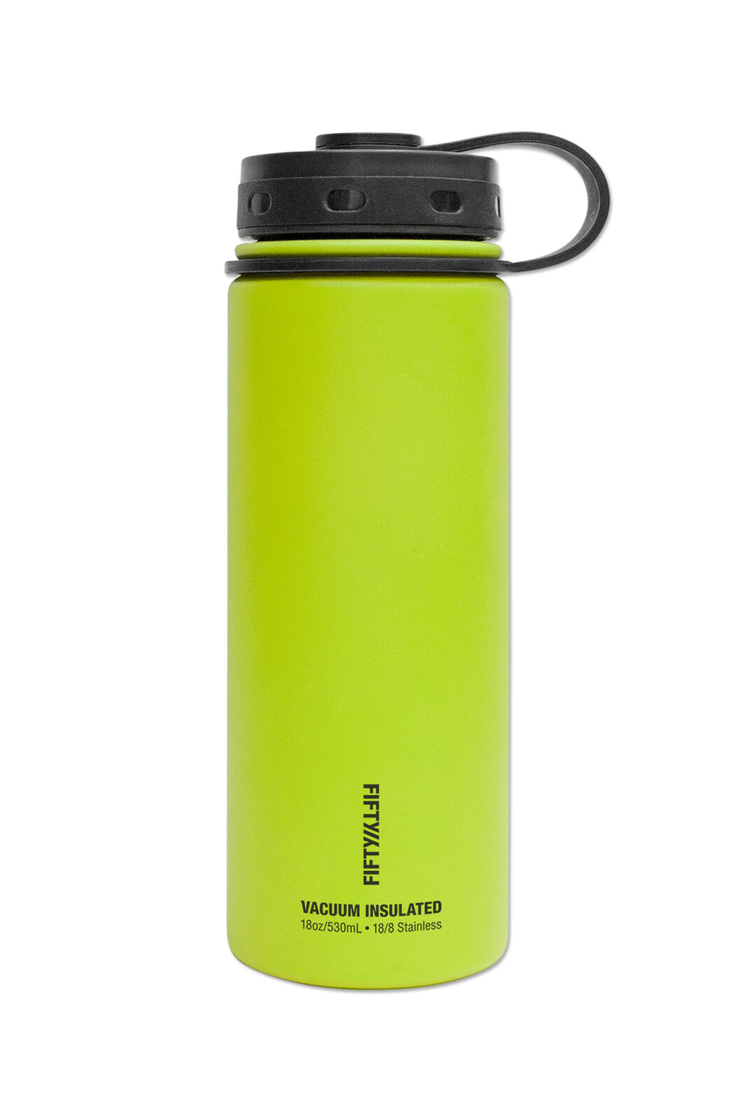 FIFTY/FIFTY® 18oz Insulated Bottle, Lime Green, hi-res
