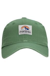 Macpac Vintage Cap, Green, hi-res