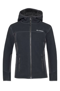 Macpac Mini Mountain Hooded Jacket — Kids', Black, hi-res
