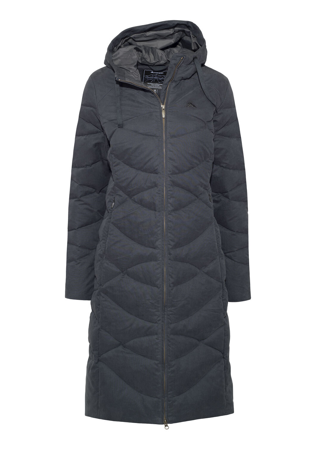 Macpac Twilight Down Coat — Women's, Carbon, hi-res