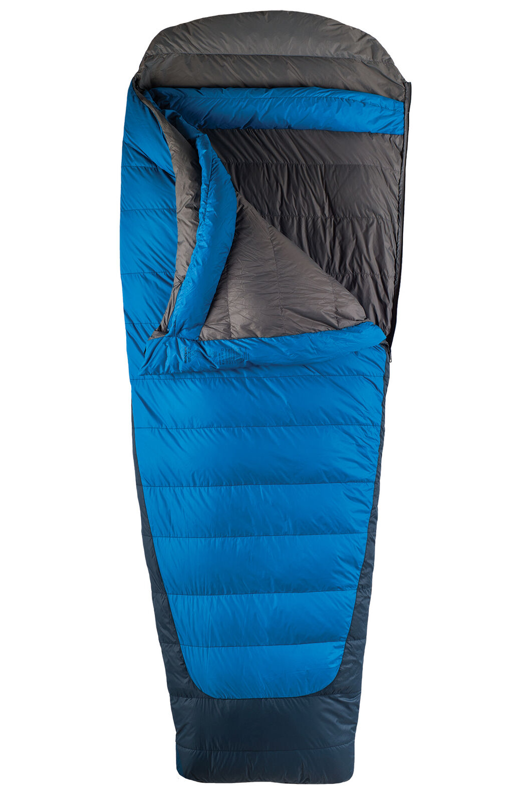 Macpac Escapade 700 Extra Large Down Sleeping Bag, Classic Blue, hi-res