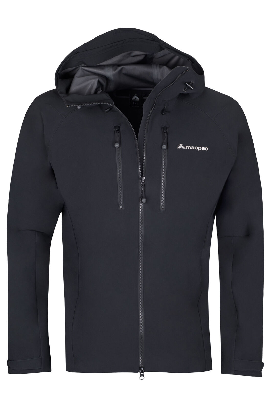 Macpac Fitzroy Alpine Series Softshell Jacket - Men's, Black, hi-res