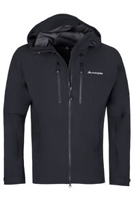 Fitzroy Alpine Series Softshell Jacket - Men's, Black, hi-res