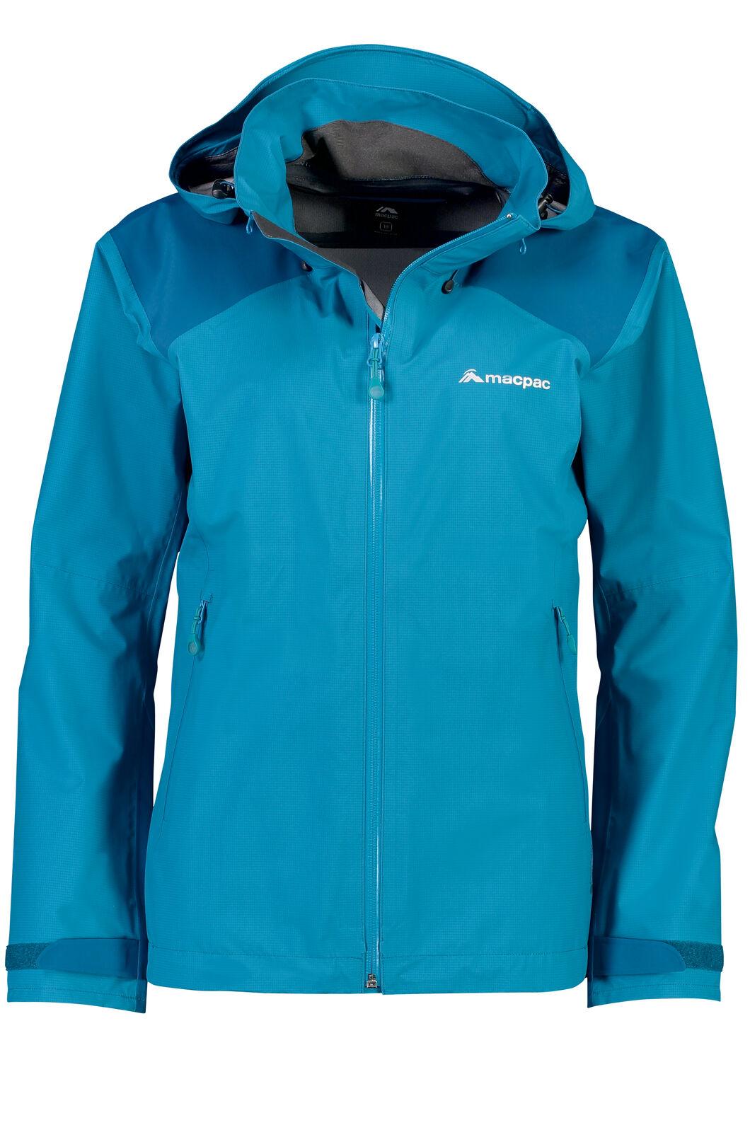 Macpac Traverse Pertex Shield® Rain Jacket - Women's, Enamel Blue, hi-res