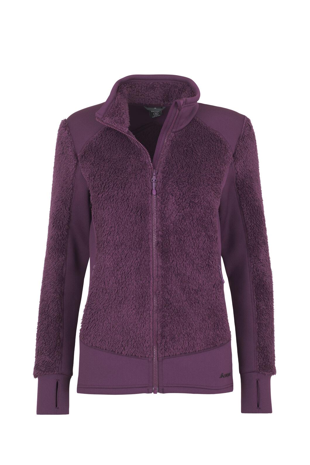 Macpac Haast Sherpa Fleece - Women's, Potent Purple, hi-res